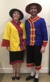 Boy and Girl En Villager